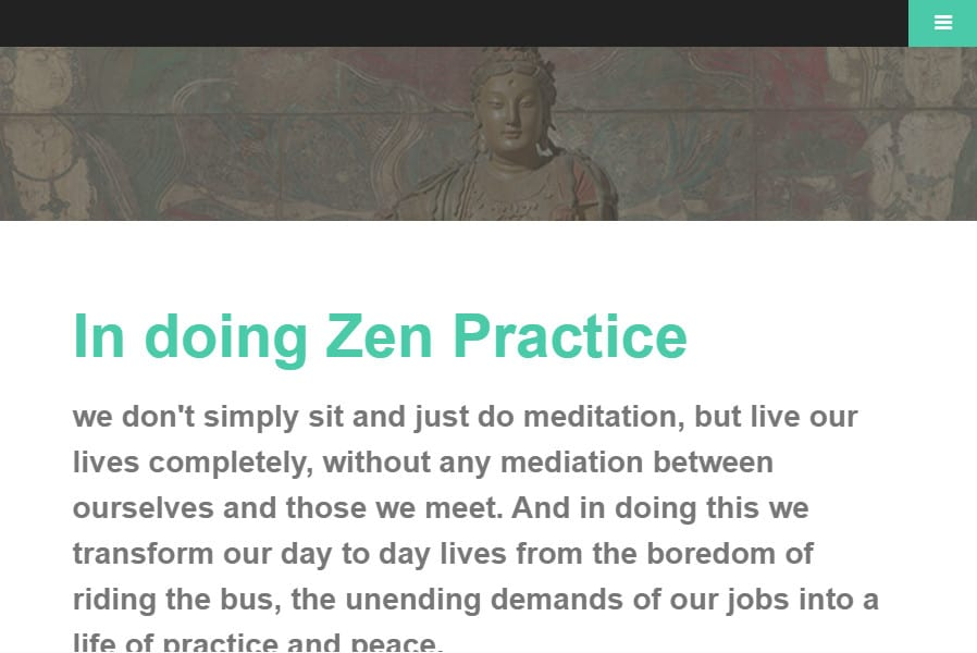 Trikaya Zen Center website