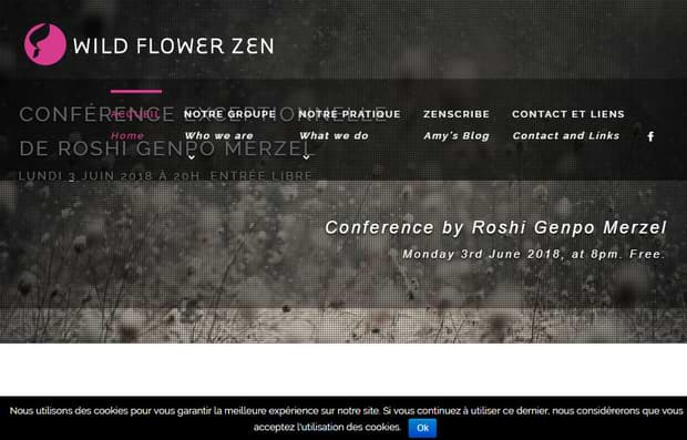 Wildflower Zen - website