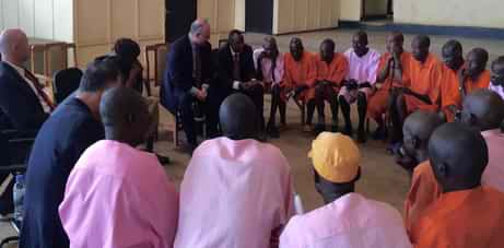 Speech and Listening Circle, Gasabo Prison, Rwanda