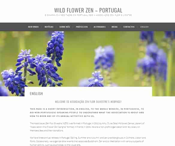 Wild Flower Zen - Portugal